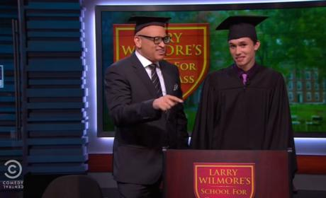 Gay Valedictorian Gives Banned Speech on The Nightly Show