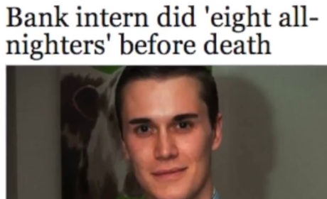 Bank of America Intern Dies After 72-Hour Shift