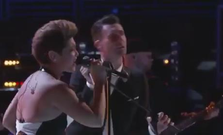 """Tessanne Chin and Adam Levine: """"Let It Be"""" - The Voice"""