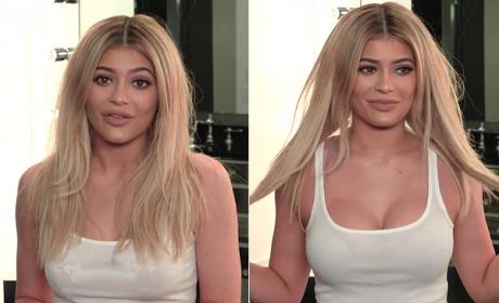 Kylie Jenner Reveals Secret Behind Her Cleavage