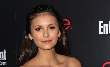 Nina Dobrev: Dating Derek Hough?!?