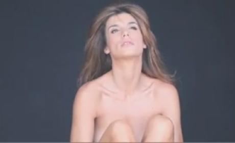 Elisabetta Canalis: Nude for PETA