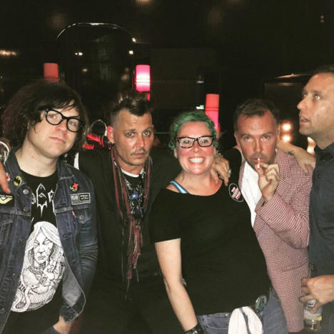 Johnny Depp, Doug Stanhope, Ryan Adams