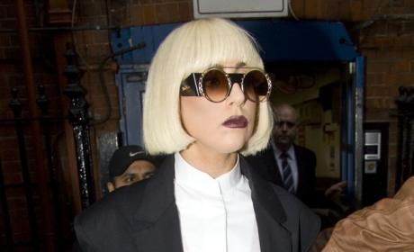 What's Lady Gaga's best look? Pantsuit or Pants-free?