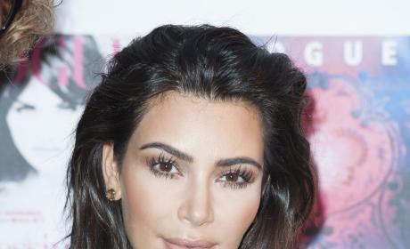 Kim Kardashian at Vogue Event