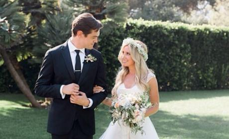 Ashley Tisdale's Wedding Photo