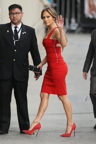 Jennifer Lopez in Bandage Dress