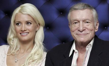 Holly Madison and Hugh Hefner Photo
