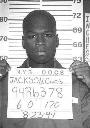 50 Cent Mug Shot