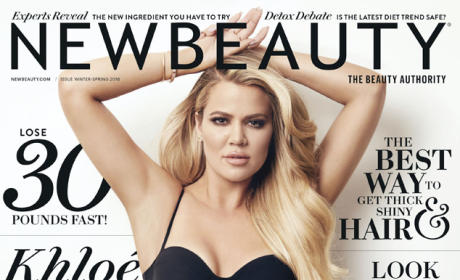 Khloe Kardashian New Beauty Magazine Cover