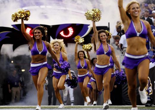 Ravens Cheerleader
