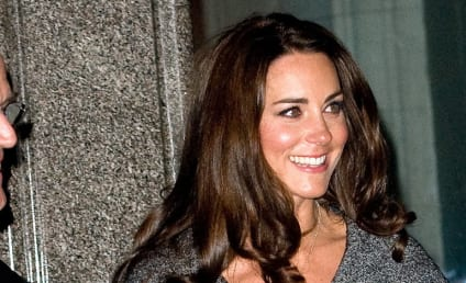 Kate Middleton Makes First Solo Public Appearance