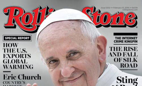 Pope Francis Rolling Stone Cover: Revealed! Actually This Month's Cover!