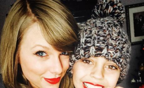 Taylor Swift and Delaney Clements
