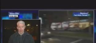 Bomb Explodes Near Anderson Cooper