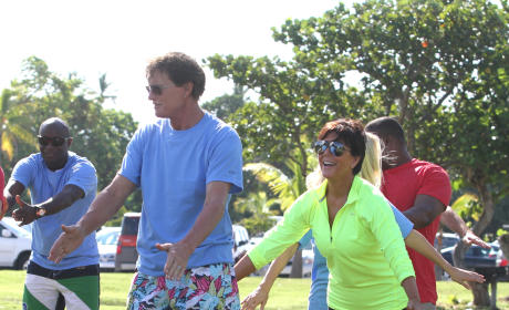 Bruce and Kris Jenner in 2012