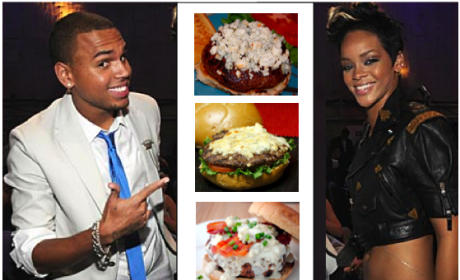 "Restaurant Unveils, Quickly Rethinks Chris Brown and Rihanna-Inspired ""Black & Bleu"" Burger"