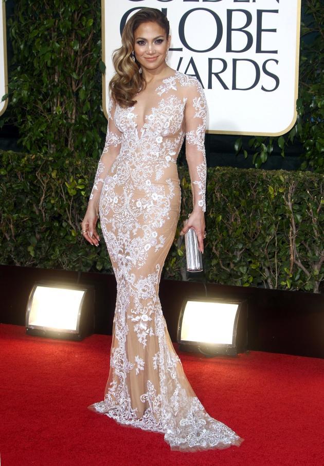 Jennifer Lopez at the Golden Globes