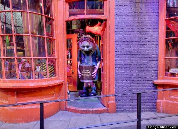 Google Street View Weasleys' Wizard Wheezes