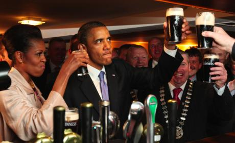 THG Caption Contest: A Great Day For a Guinness!