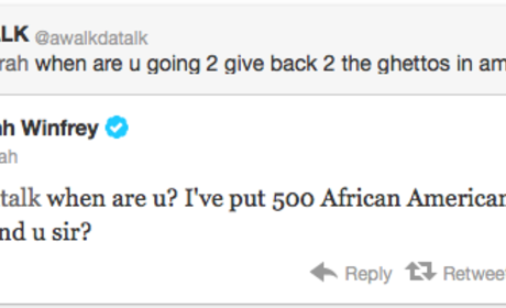 OWNed: Oprah Crushes Hater on Twitter