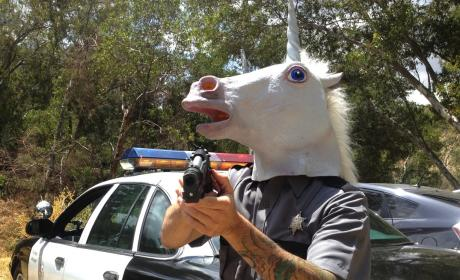 Man Calls 911 to Report Insane, Knife-Wielding Unicorn Chasing Man Through Cemetery