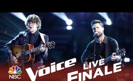 Adam Levine and Matt McAndrew - Lost Stars (The Voice Finals)