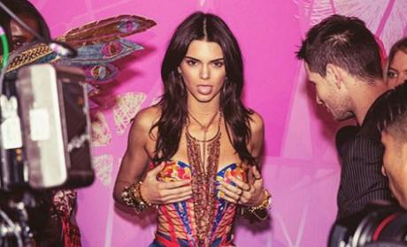 Kendall Jenner: Who Did She Ban from Victoria's Secret Fashion Show?
