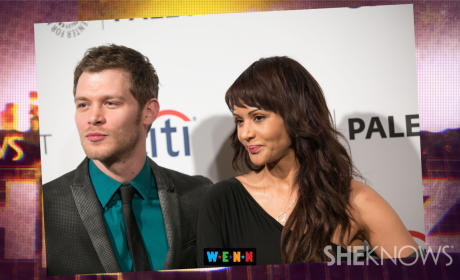 Joseph Morgan, Persia White Engaged!