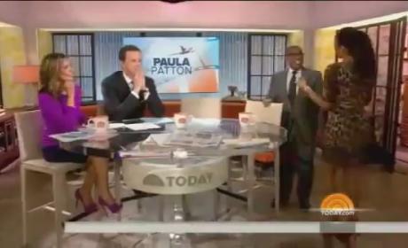 Paula Patton Backs It Up on Al Roker
