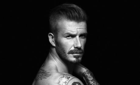 HOT David Beckham Underwear Photo