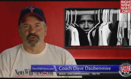 Dave Daubenmire: Obama is Gay!