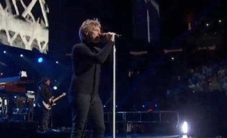Bon Jovi 12-12-12 Concert Performance