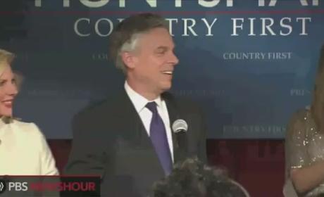 Jon Huntsman Speech After New Hampshire Primary