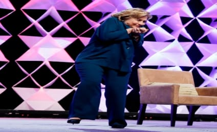 Hillary Clinton Dodges Hurled Shoe in Vegas: Watch Now!