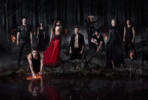 The Vampire Diaries Cast Photo