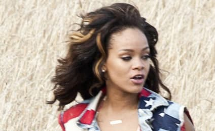 "Rihanna Gets Patriotic For ""We Found Love"" Video"