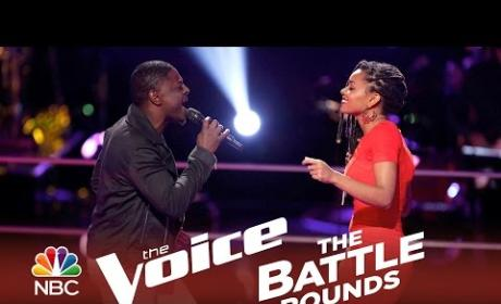 Damien vs. Kelli Douglas (The Voice Battle Round)