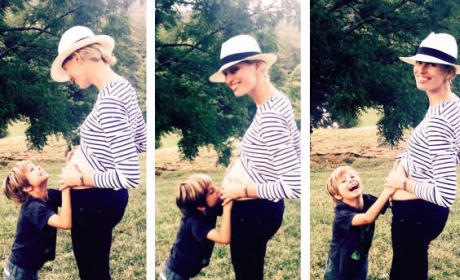Karolina Kurkova: Pregnant with Child #2!