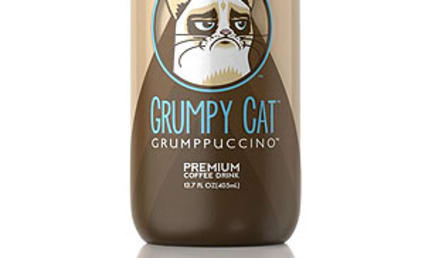 "Grumpy Cat ""Grumppuccino"" to Be Released in September"