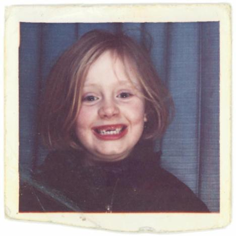 Adele Throwback Photo