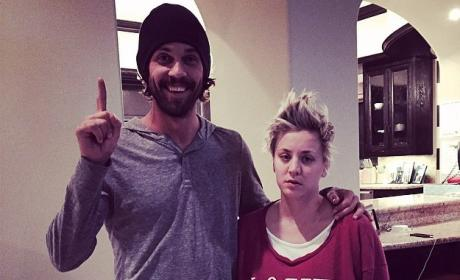 Kaley Cuoco and Ryan Sweeting Anniversary Photo
