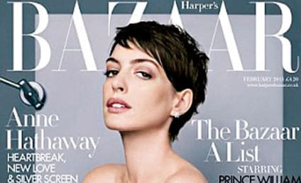 Anne Hathaway in Harper's Bazaar: Not Desirable AT ALL