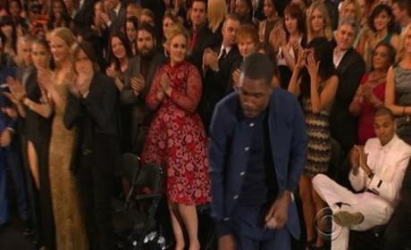 Chris Brown, Frank Ocean at Grammys