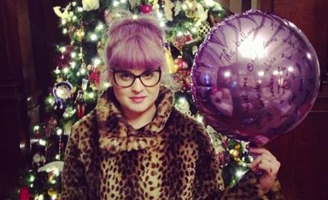 Kelly Osbourne on Christmas