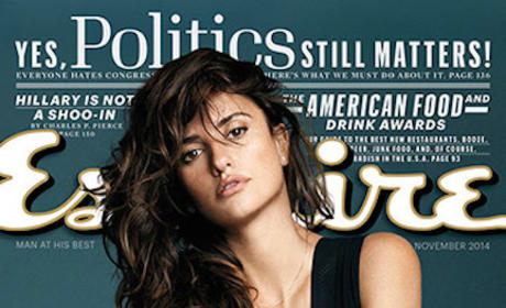 Penelope Cruz Esquire Cover