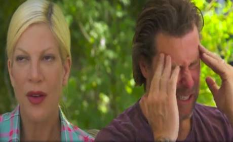 Tori Spelling and Dean McDermott: Barely Speaking After Latest Fights! Is It Over?