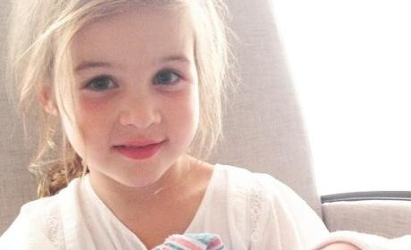 Tiffani Thiessen Baby Photo