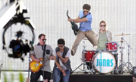 The Jonas Brothers Rock Out in Los Angeles