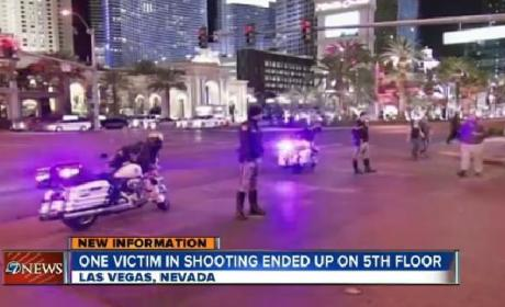 Las Vegas Shooting: Three Wounded Outside Movie Theater